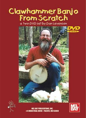Media Clawhammer Banjo from Scratch,  2-DVD Set