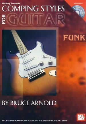 Media Comping Styles for Guitar: Funk  Book/CD Set