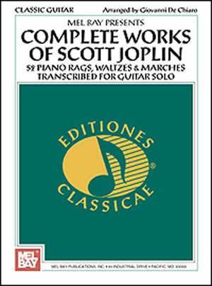 Media Complete Works of Scott Joplin for Guitar
