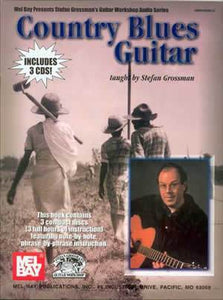 Media Country Blues Guitar Book/3-CD Set