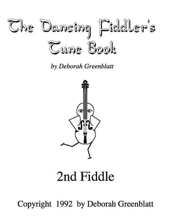 Media Dancing Fiddler's Tune Books, The - 2nd Fiddle Part