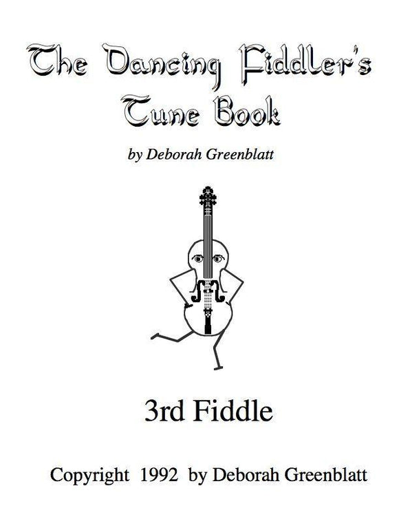 Media Dancing Fiddler's Tune Books, The - 3rd Fiddle Part
