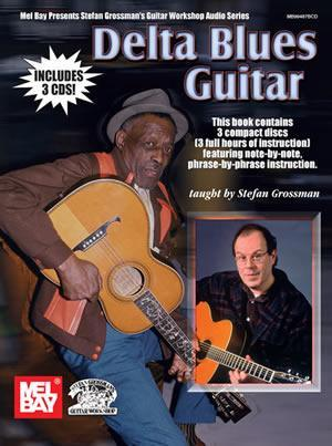 Media Delta Blues Guitar Book/3-CD Set
