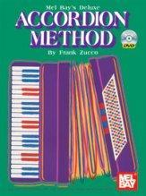 Media Deluxe Accordion Method  Book/DVD Set