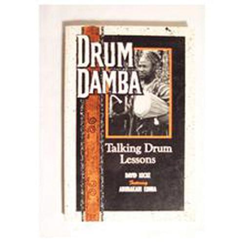 Media Drum Damba: Talking Drum Lessons book