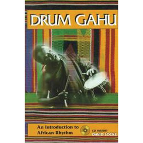 Media Drum Gahu: An Introduction to African Rhythms Book/CD Set