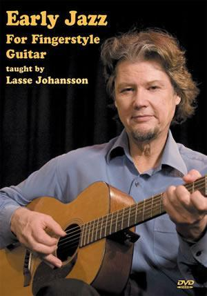 Media Early Jazz For Fingerstyle Guitar  DVD