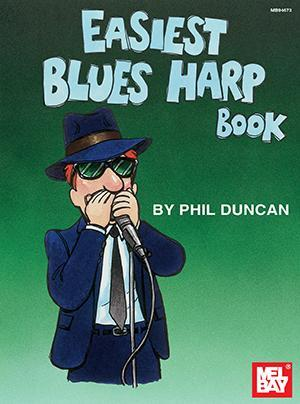 Media Easiest Blues Harp Book