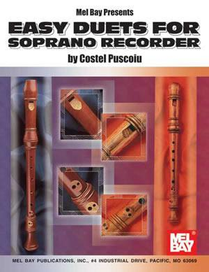 Media Easy Duets For Soprano Recorder