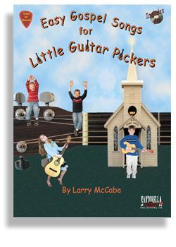 Media Easy Gospel Songs for Little Guitar Pickers with CD