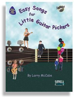 Media Easy Songs for Little Guitar Pickers with CD