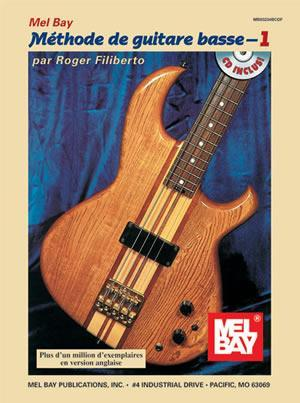 Media Electric Bass Method, Volume 1, French Edition  Book/CD Set