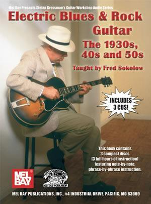 Media Electric Blues & Rock Guitar - The 1930s, 40s and 50s  Book/CD Set