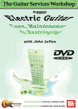 Media Electric Guitar Care, Maintenance and Restringing  DVD