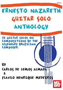 Media Ernesto Nazareth Guitar Solo Anthology