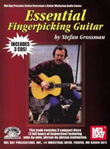 Media Essential Fingerpicking Guitar   Book/3-CD Set