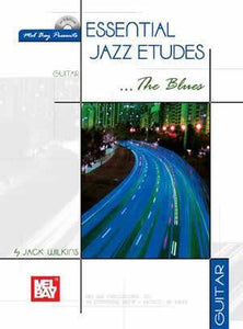 Media Essential Jazz Etudes...The Blues for Guitar  Book/CD Set