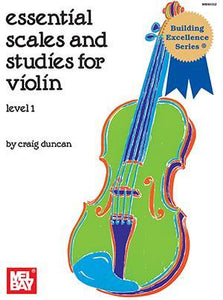 Media Essential Scales and Studies for Violin