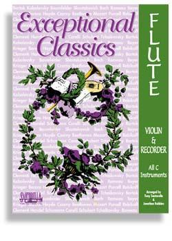 Media Exceptional Classics for Flute with CD