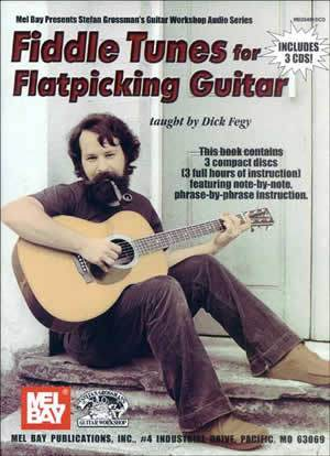 Media Fiddle Tunes for Flatpicking Guitar  Book/3-CD Set