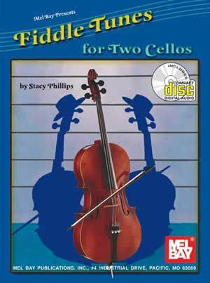 Media Fiddle Tunes for Two Cellos  Book/CD Set