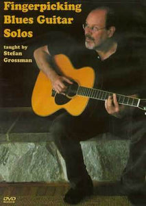 Media Fingerpicking Blues Guitar Solos  DVD