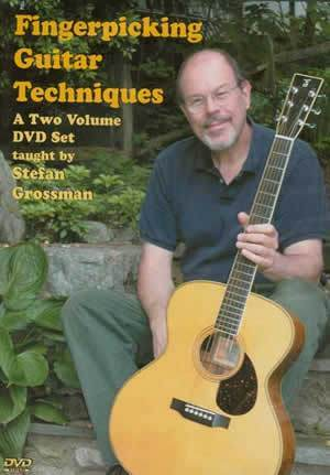 Media Fingerpicking Guitar Techniques  2-DVD Set
