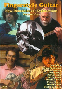 Media Fingerstyle Guitar: New Dimensions & Explorations Volume 1  DVD