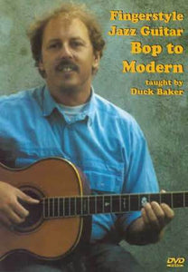 Media Fingerstyle Jazz Guitar: Bop to Modern  DVD