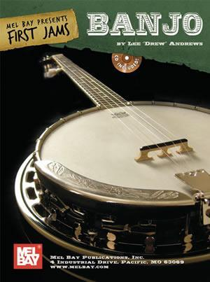 Media First Jams:  Banjo   Book/CD Set