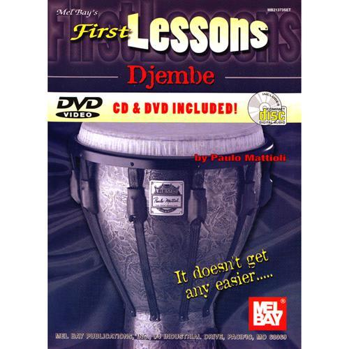Media First Lessons - Djembe Book, CD and DVD