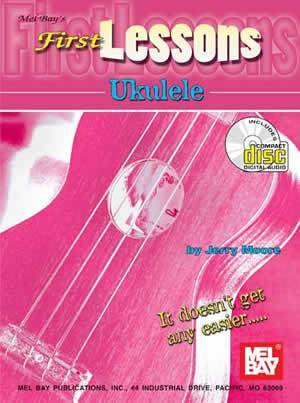Media First Lessons Ukulele  Book/CD Set