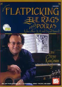 Media Flatpicking the Rags and Polkas  Book/CD Set