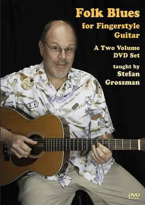 Media Folk Blues For Fingerstyle Guitar   2-DVD Set