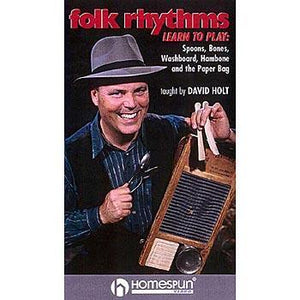 Media Folk Rhythms : Learn to Play Spoons, Bones, Washboard, Hambone and the Paper Bag