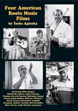 Media Four American Roots Music Films  DVD