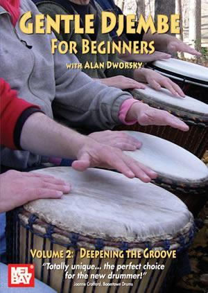 Media Gentle Djembe for Beginners, Volume 2 DVD