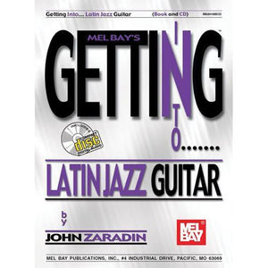 Media Getting Into Latin Jazz Guitar, Book & CD