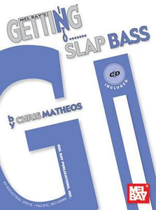 Media Getting Into Slap Bass  Book/CD Set