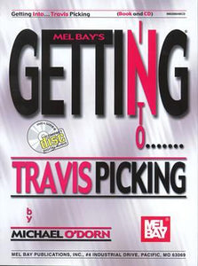 Media Getting Into Travis Picking  Book/CD Set