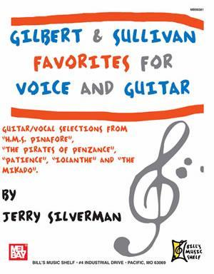 Media Gilbert and Sullivan Favorites for Voice and Guitar