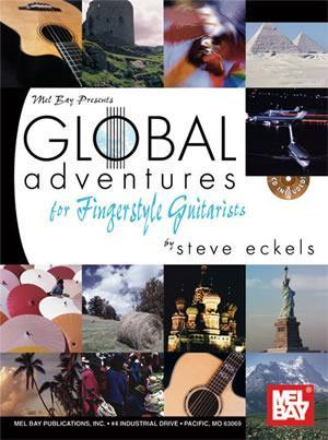 Media Global Adventures for Fingerstyle Guitarists Book/Cd Set