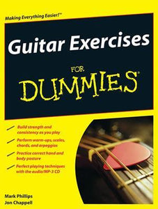 Media Guitar Exercises for Dummies  Book/CD Set