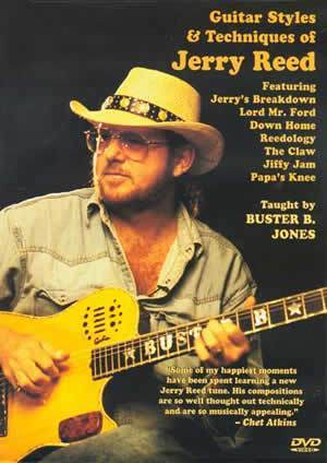 Media Guitar Styles & Techniques of Jerry Reed  DVD