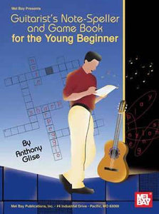 Media Guitarist's Note-Speller and Game Book for the Young Beginner