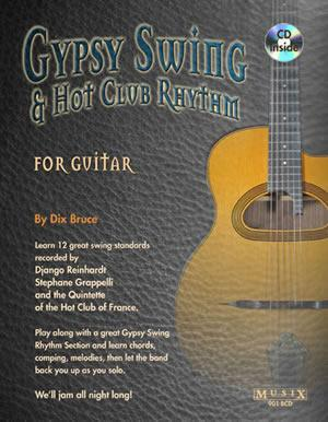 Media Gypsy Swing & Hot Club Rhythm for Guitar  Book/CD Set