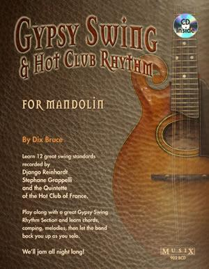 Media Gypsy Swing & Hot Club Rhythm for Mandolin by Dix Bruce