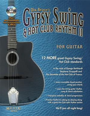Media Gypsy Swing & Hot Club Rhythm II For Guitar  Book/CD Set