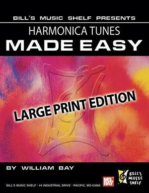 Media Harmonica Tunes Made Easy, Large Print Edition