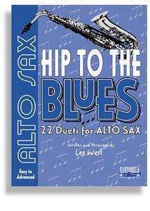 Media Hip To The Blues with CD * Jazz Duets for Alto Sax
